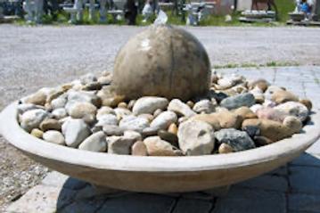 """Large Bonsai Fountain (12"""" ball)"""
