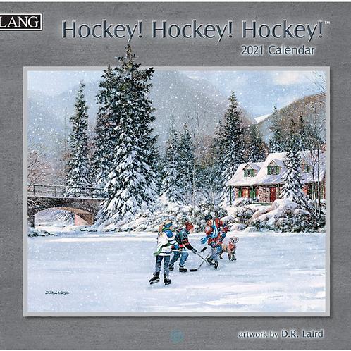 2021 Hockey! Hockey! Hockey! Calendar