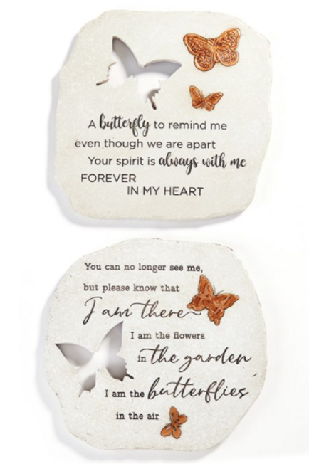 Cut Out Stepping Stone / Wall Plaques
