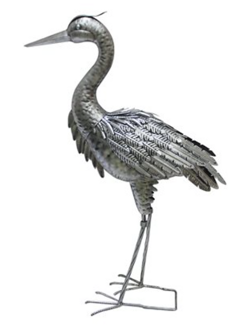Heron Metal Sculpture