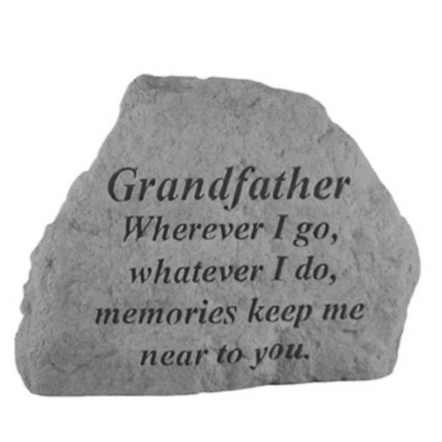 GRANDFATHER Wherever I go…