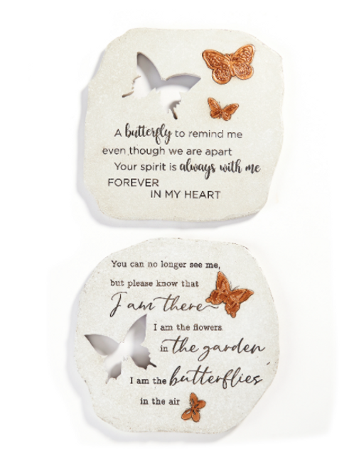 Cutout Stepping Stone Wall Plaque