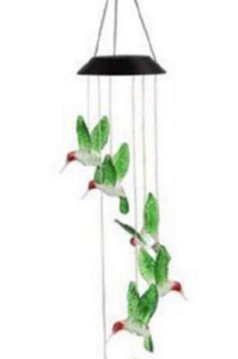 Solar Hummingbird Chime