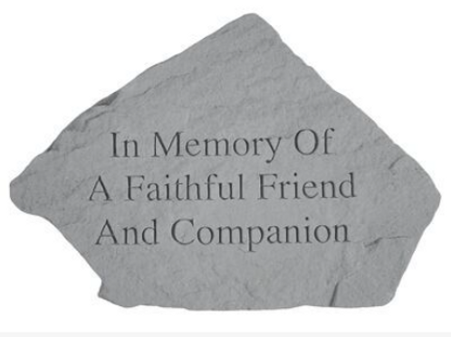 In Memory of a Faithful Friend and Companion