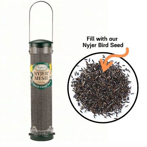 Aspects - Spruce Quick Clean Nyjer Mesh Bird Feeder