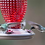 Thumbnail: Red Hobnail Hummingbird Feeder
