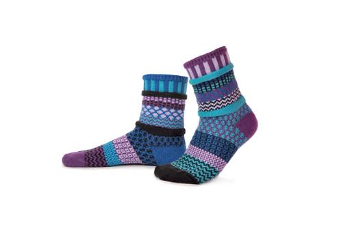 Raspberry Crew Socks