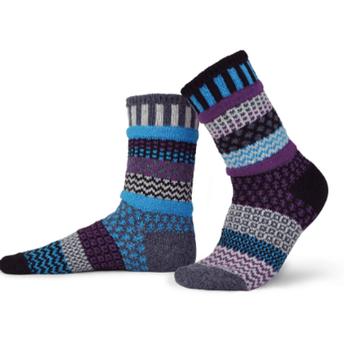 Mulberry Wool Crew Socks