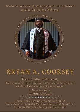 Cooksey_ TSU_ 2020 Collegiate Achievers.