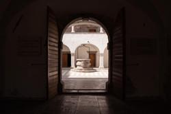 Frankopan Castle - Atrium // © 2020 / ENO DE WIT