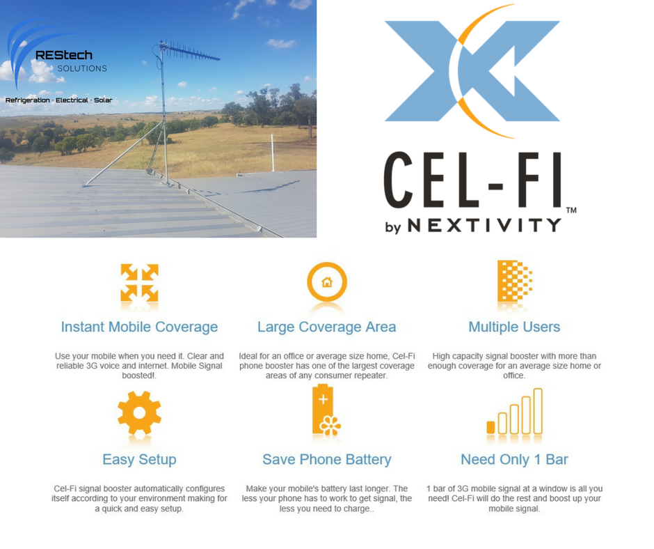 Cel-Fi; electrician; electrical; solar; refrigeration; Miles; Miles Quensland; Darling Downs