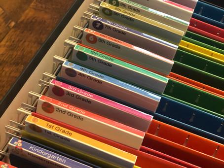 Tips For Organizing School Memorabilia