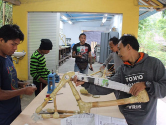 BAMBOO WORKSHOP MOVES TOWARDS FULL CAPACITY
