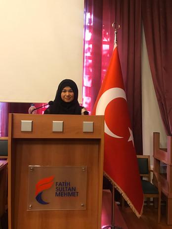 Invited speaker in Turkey