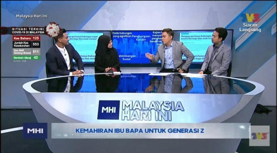 Segment with TV3