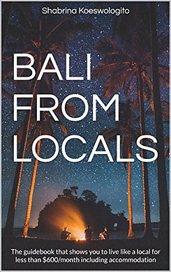 Bali From Locals guidebook