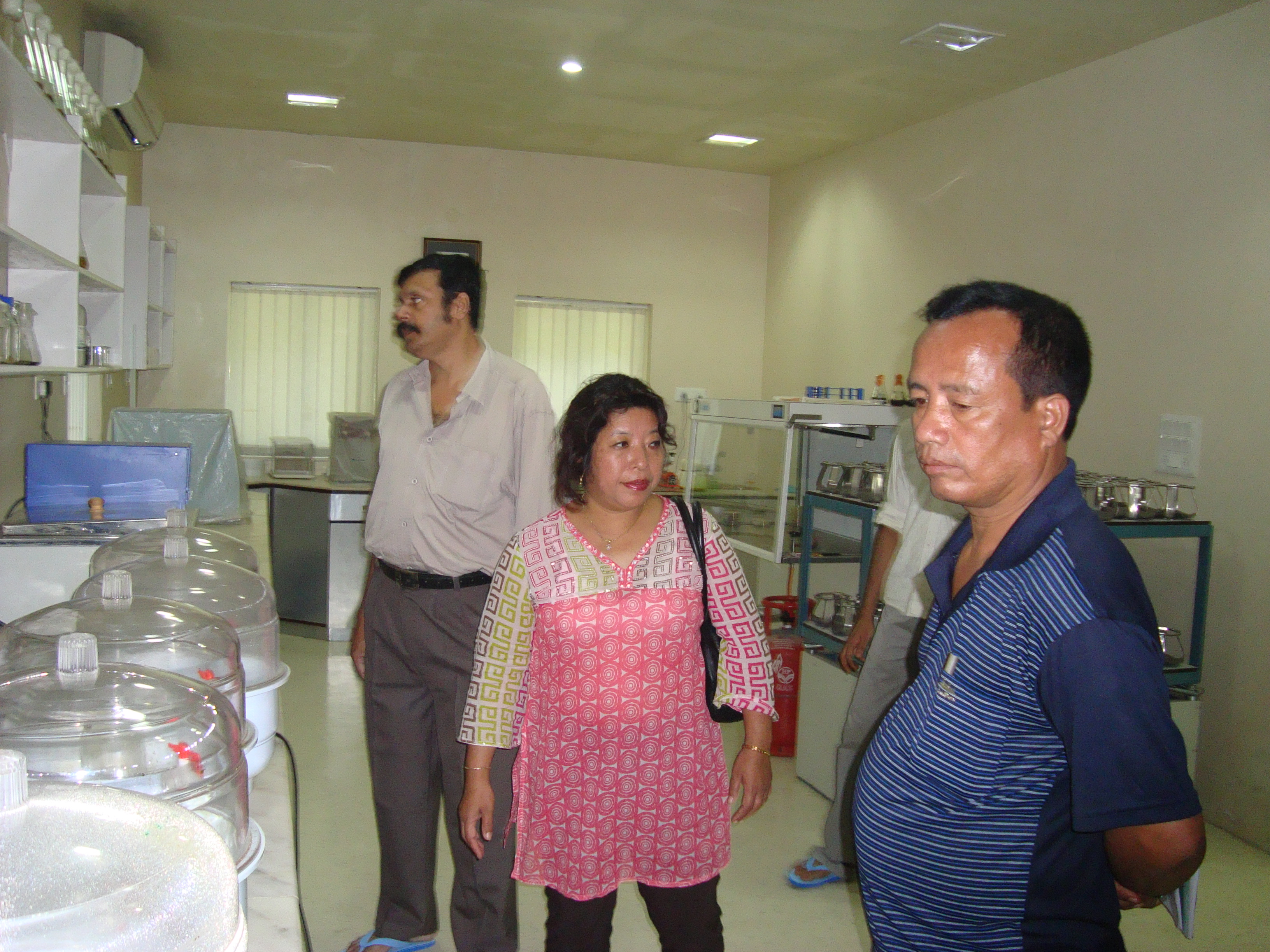 Govt. visit to Anubhav Lab