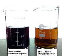 stevia electrocoagulation