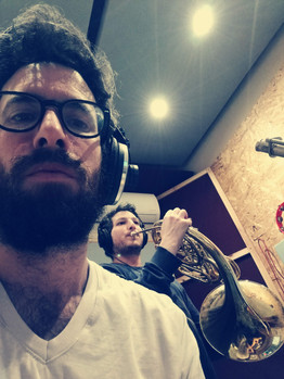 Recording french horn