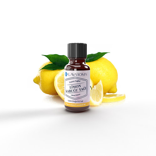 Saf Limon Kabuğu Yağı (Citrus Limon) 10ml