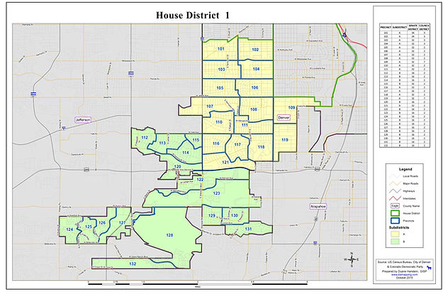 Colorado State House District 1