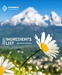 Ингредиенты продуктов Evenswiss