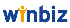 This image is the logo of our partner Winbiz