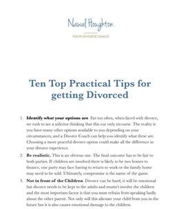 top ten practical tips for getting divorced