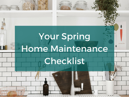 ARE YOU READY TO START YOUR SPRING MAINTENANCE PROJECTS?