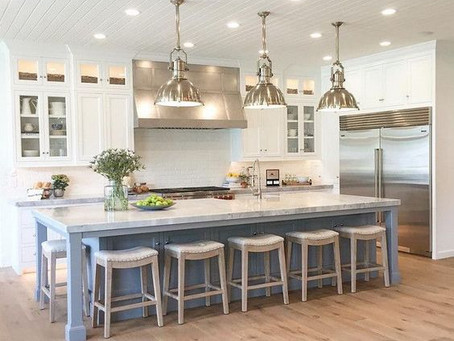 Planning your kitchen island.
