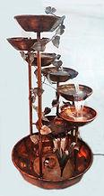 water fountain copper