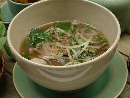 Soupe poulet, riz brun et gingembre