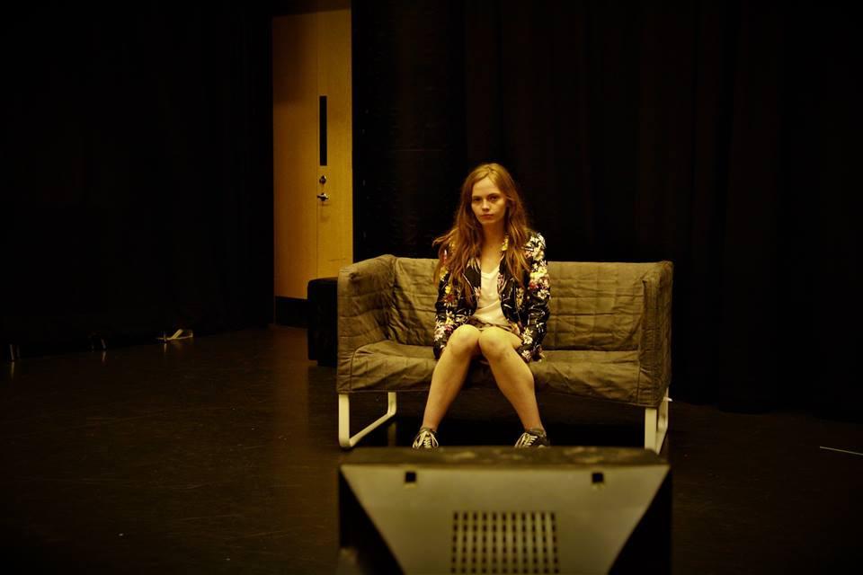 Tara Embers as protagonist Annie