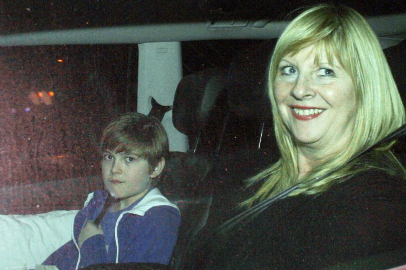 Eliot Carrington photographed by papparazzi leaving EastEnders filming