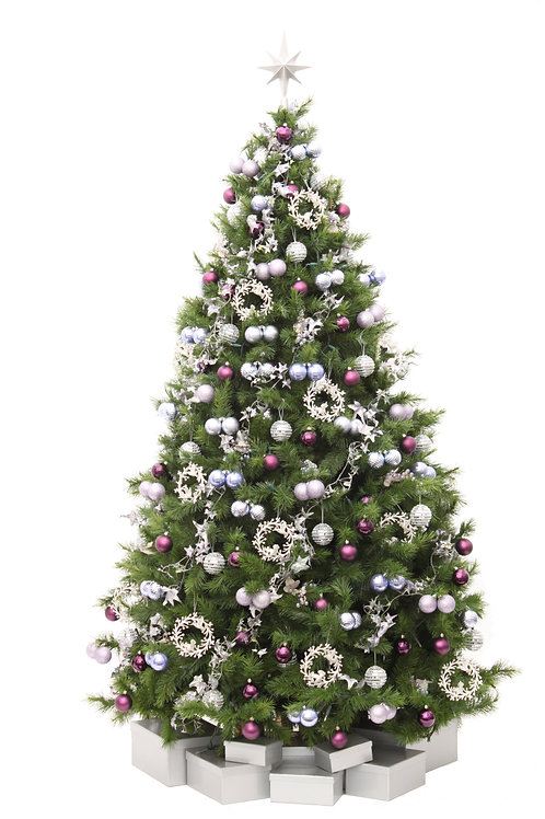 YULETIDE LILAC ARTIFICIAL TREE