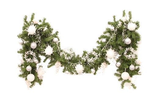 PEARLY WHITE GARLAND