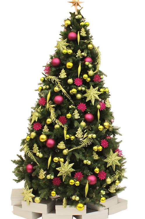 MERRY & BRIGHT ARTIFICIAL TREE
