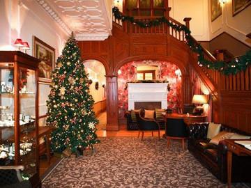 Festive Christmas Hotel Installation