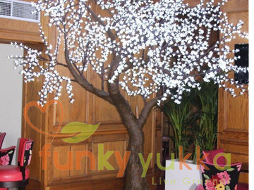 Giant Light-Up Cherry Tree