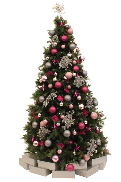 SUGAR PLUM PINK ARTIFICIAL TREE