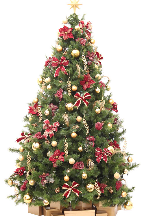 CRANBERRY ARTIFICIAL TREE