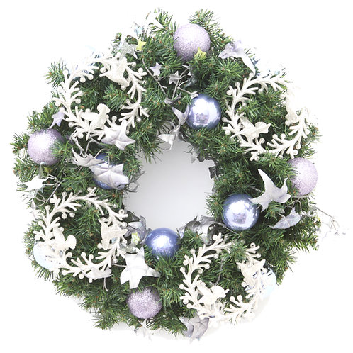 YULETIDE LILAC WREATH