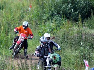 Funky Yukka Plant Tech in Charity Dirt Bike Race