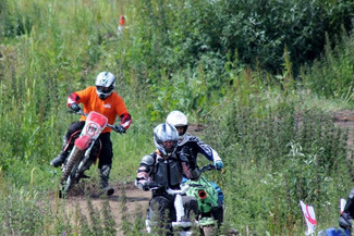Funky Yukka Plant Tech in Charity Dirt Bike Race