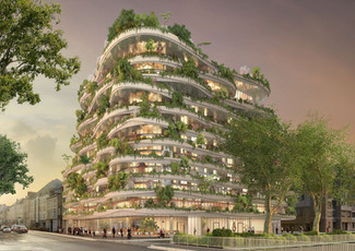 Paris-Based Architect Designs Stunning Tree-Filled Building