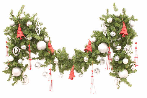 RED DELIGHT GARLAND