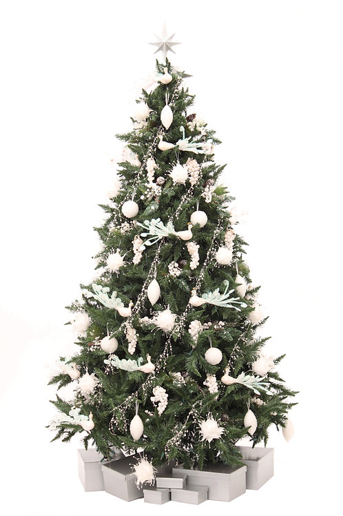 WINTER WHITE ARTIFICIAL TREE
