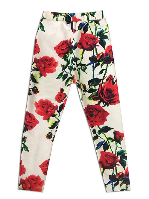 Floral Scuba Legging