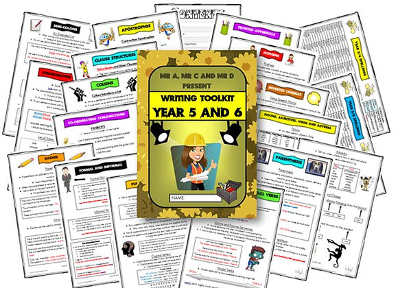 Year 5 and 6 Writing Knowledge Organiser / Toolkit