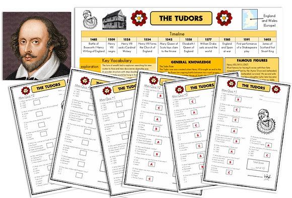 Tudors - Knowledge Organiser and Mini-Quizzes
